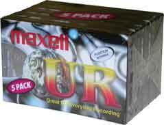 Maxell Ur-90 5-pack