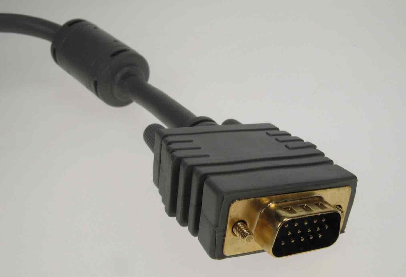 Ohmega Vga Ansl. Kabel 2m Gold