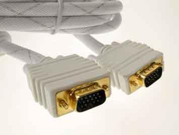 Supreme Vga Ansl.kabel 2m Gold