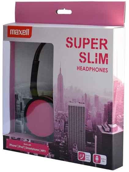 Maxell hörlur slim headset
