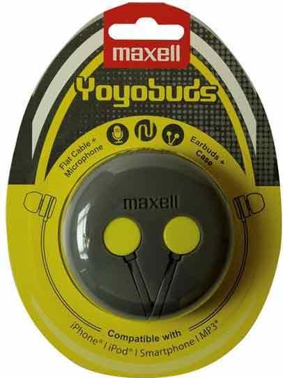 Maxell Headset Yoyobuds GUL