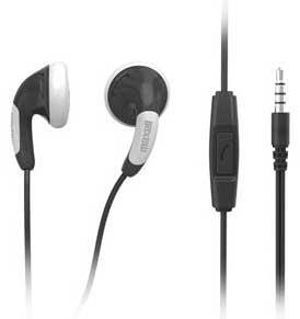 Maxell headset Colorbudz SVART