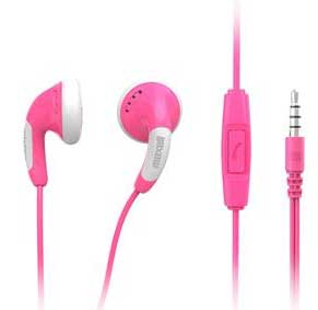 Maxell headset Colorbudz ROSA