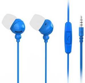 Maxell headset Plugz mik Blå