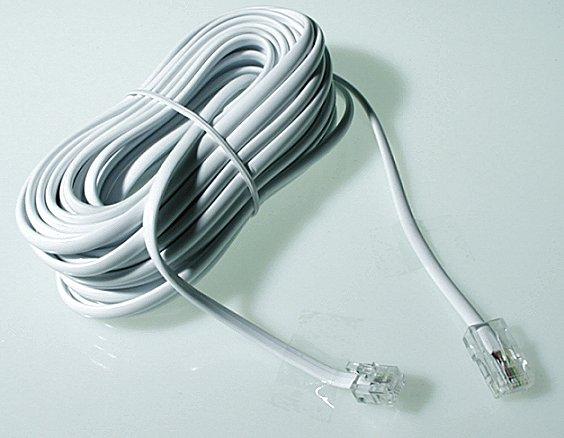 Ansl.kabel Vägg-apparat 10m