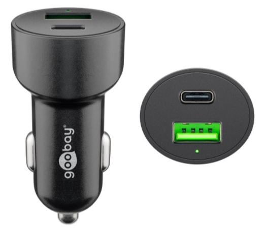Goobay USB laddare för bil Cig