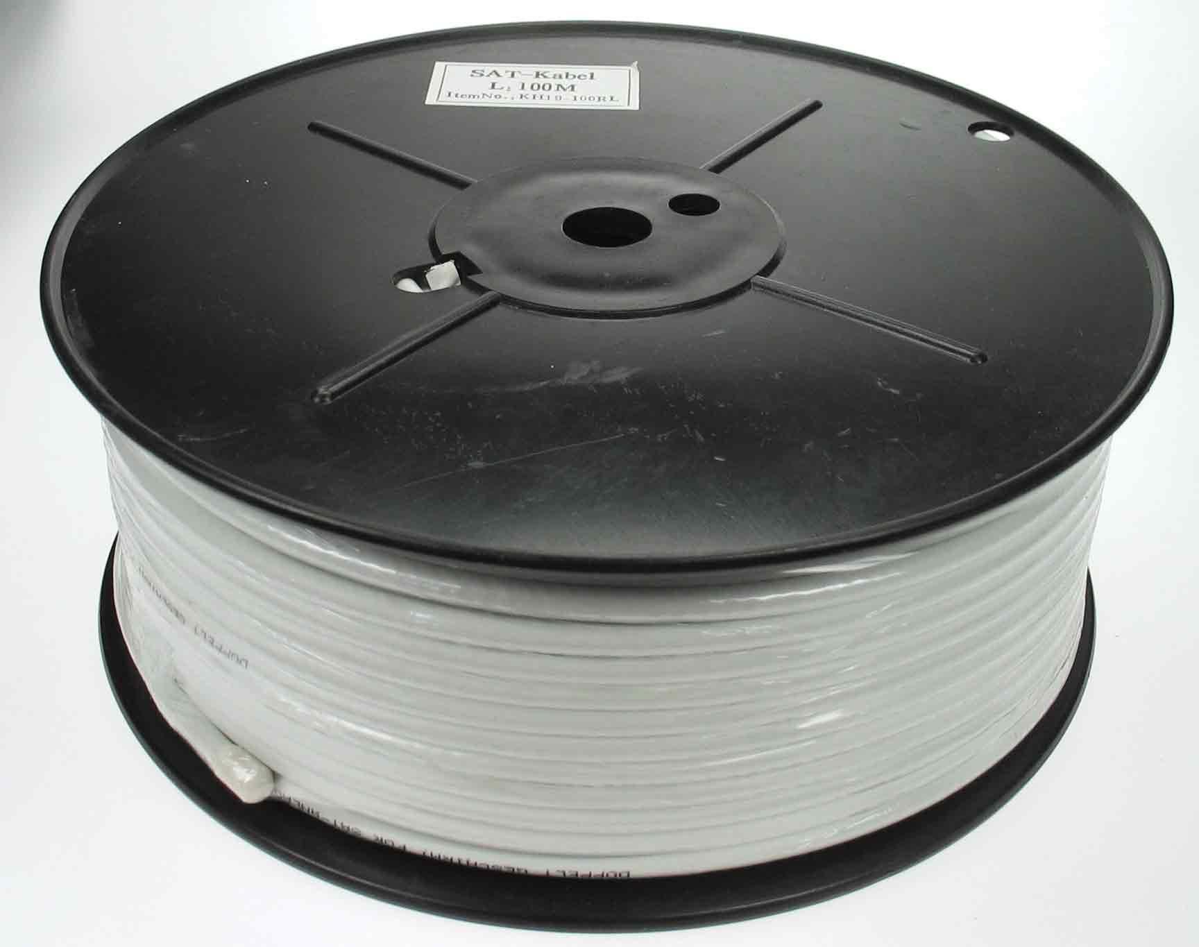Koax Kabel 1.0/4.8 dubbelskärm