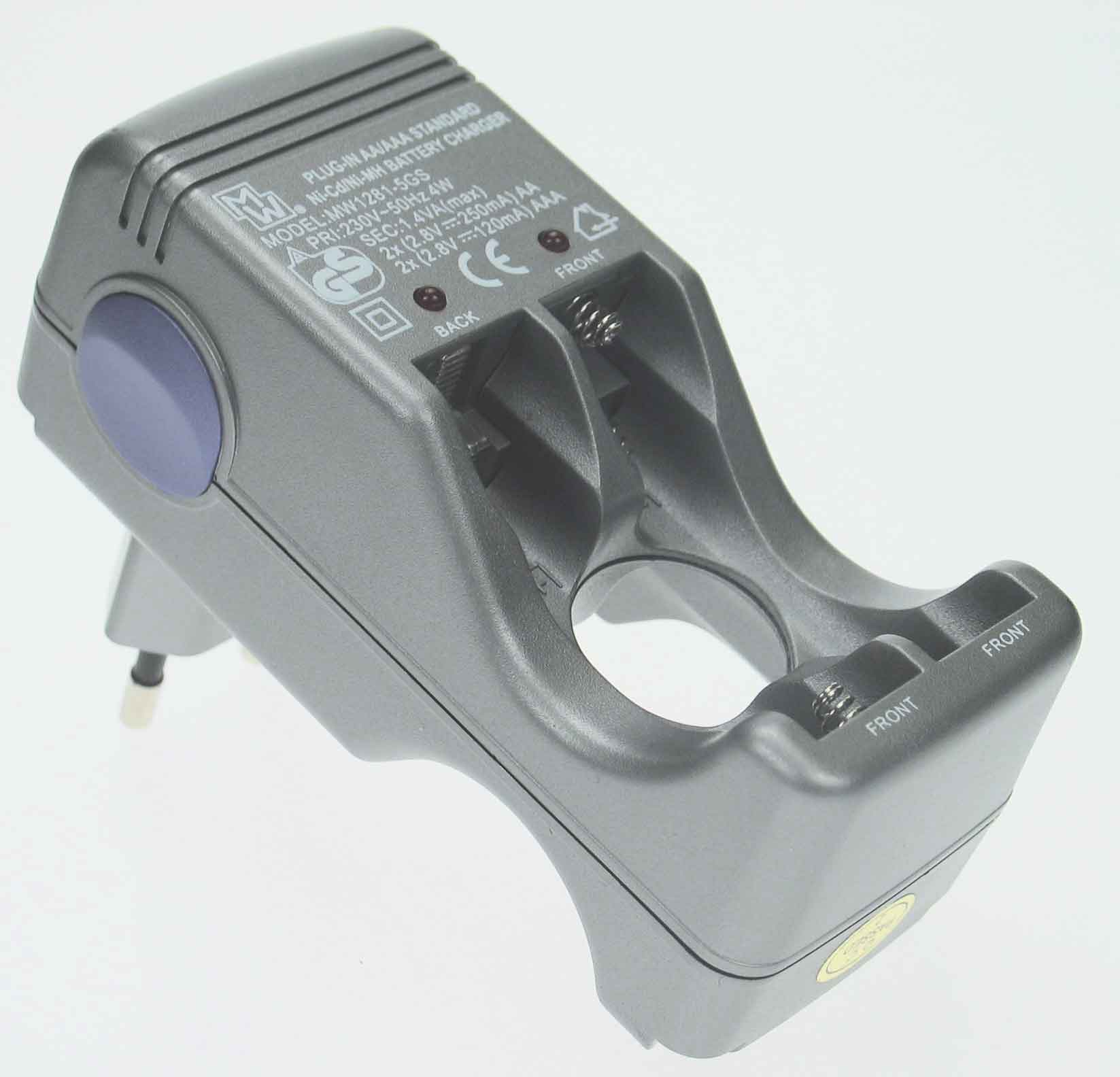 Batteriladdare Inkl.4850 Aaa