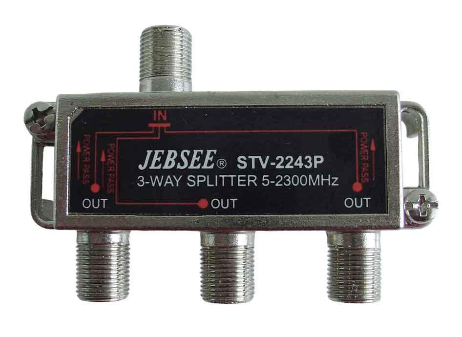 F-splitt M57 3vägs 5-2300 Mhz