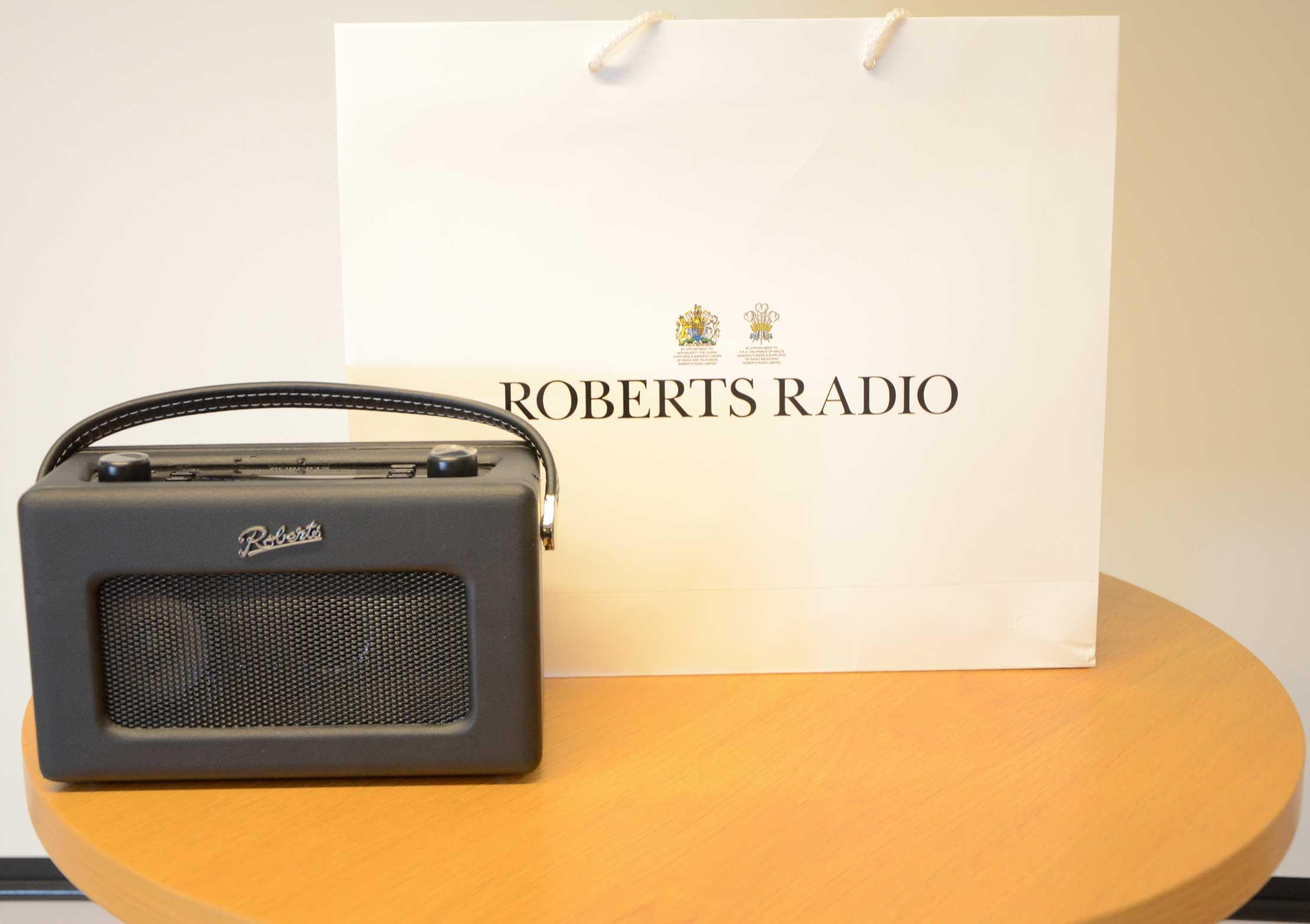Carrier bag Roberts Radio exkl