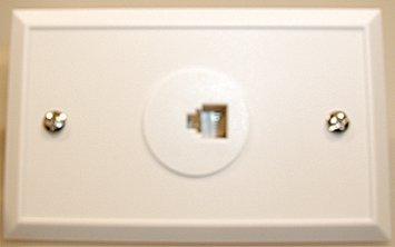 Modular Vägguttag 6 Pin