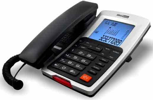 Telefon MAXCOM Kxt 709 Display