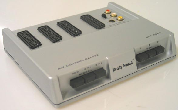 Audio Video Switch Scart Rca S