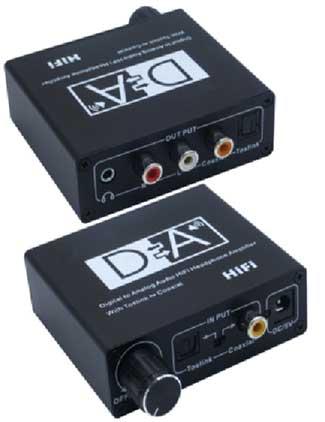 Ohmega DAC för hörlurar liten