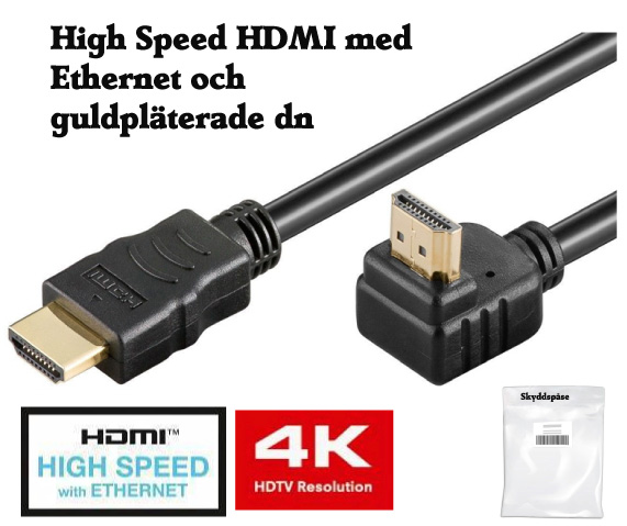 HDMI kabel don 2 m vinkel B