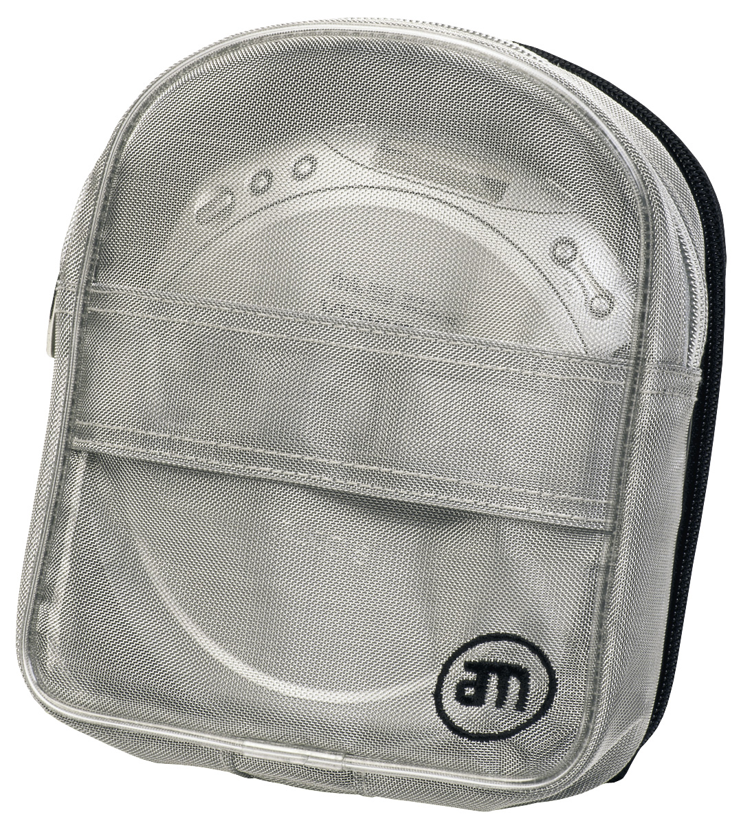 Am Cd Plaer Bag Silver 4cd &