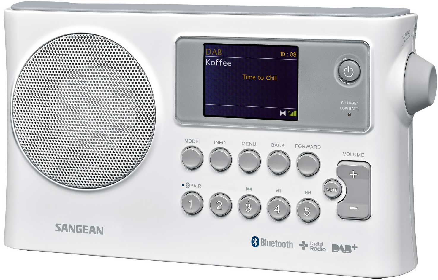 Sangean Bluetooth FM AM Radio
