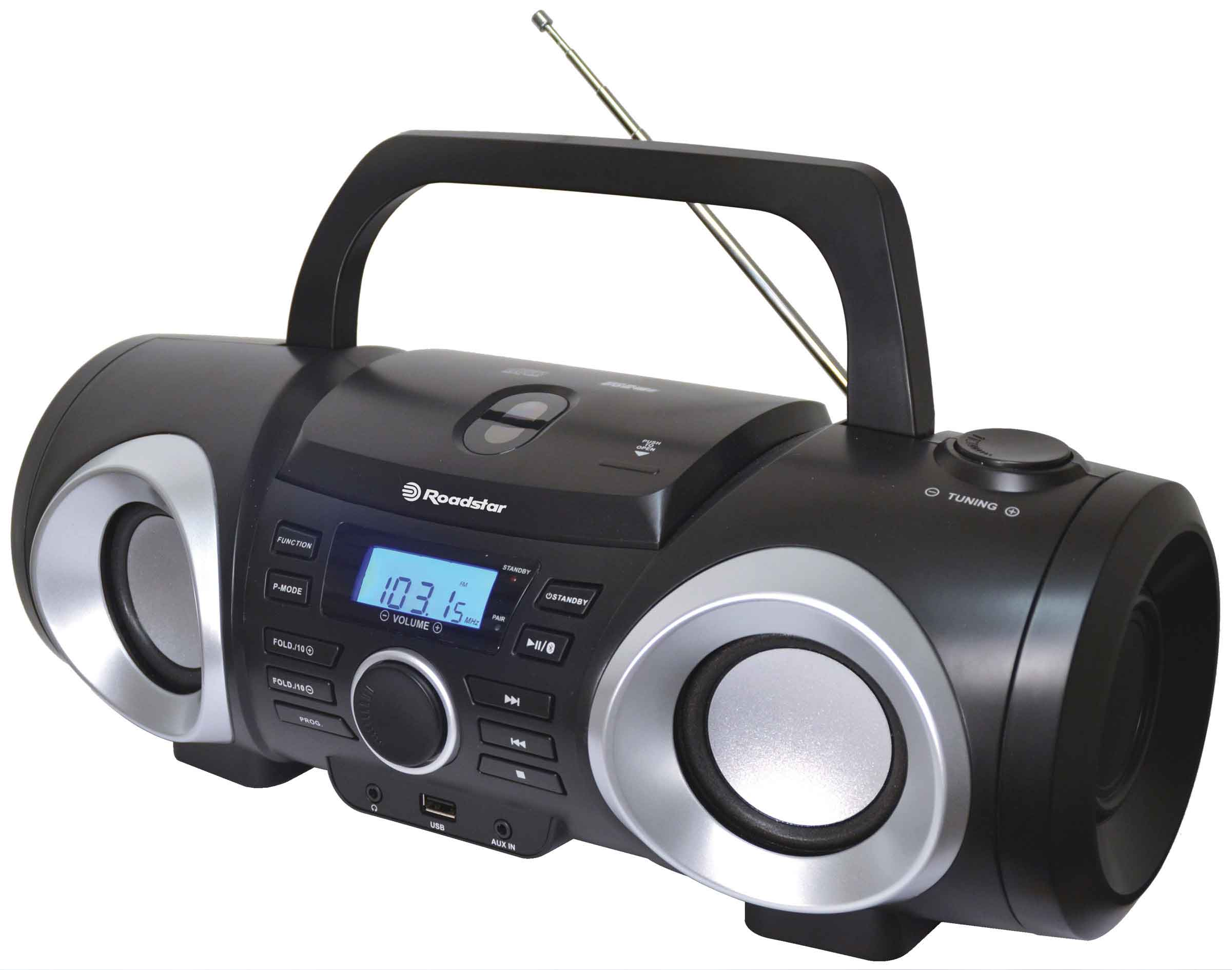 ROADSTAR Boombox CD RADIO USB