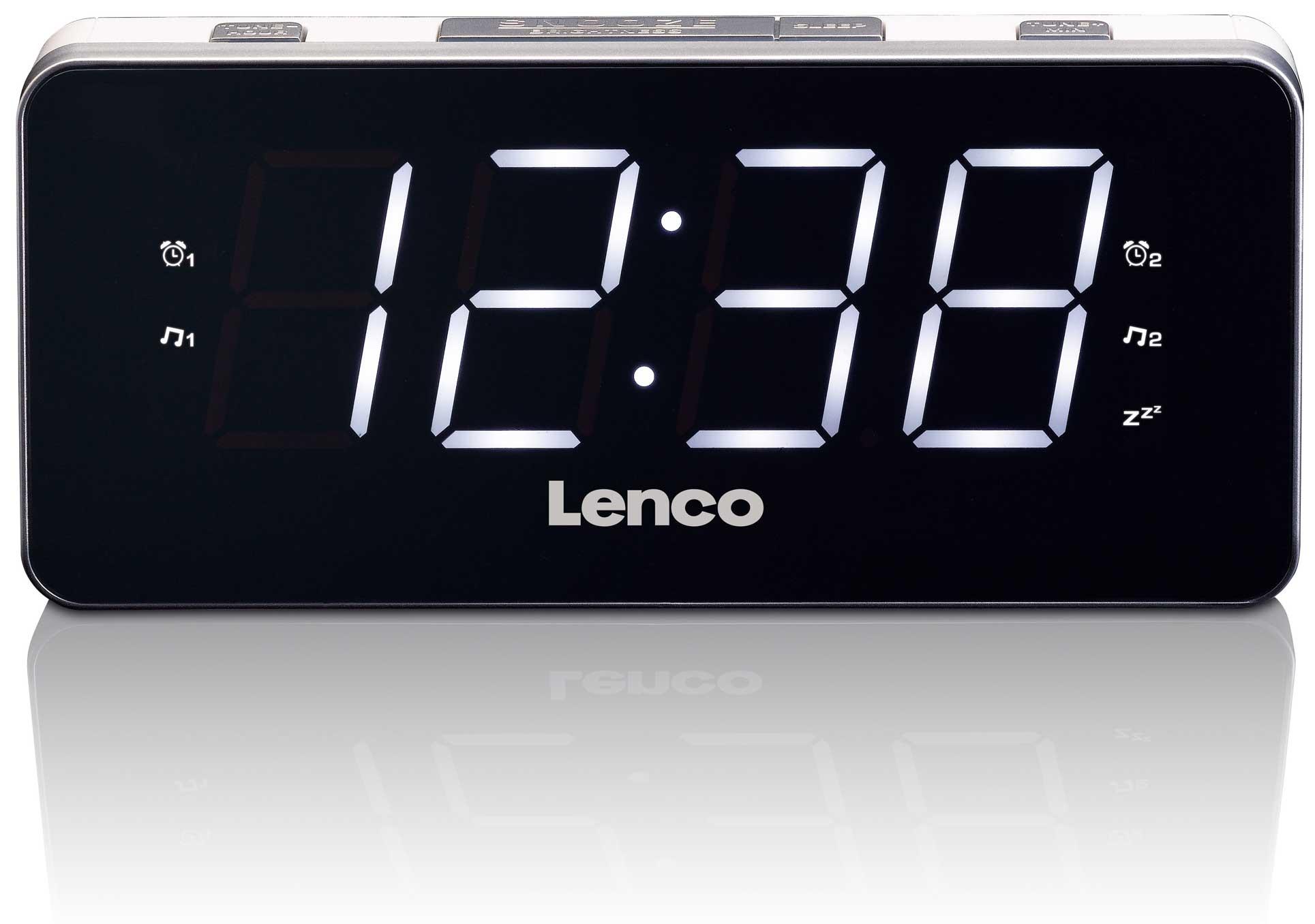 Lenco Klockradio jumbo siffror