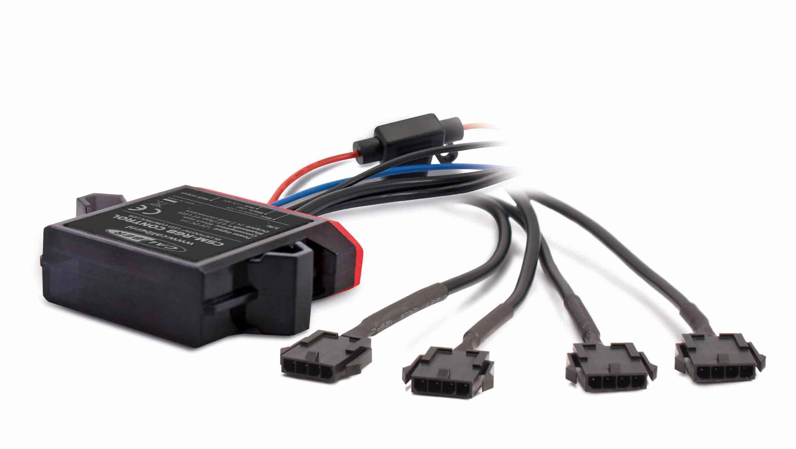 Caliber LED control