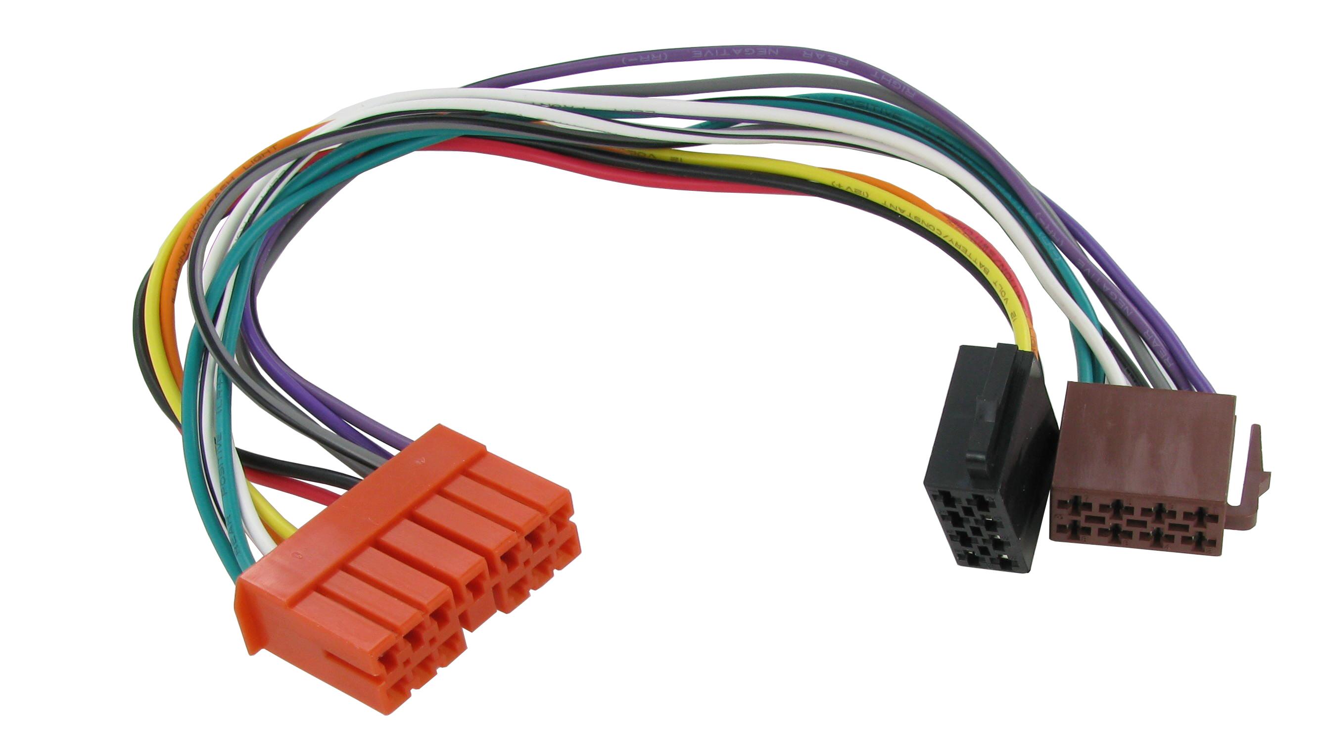 RENAULT 5,19,21 ISO kablage