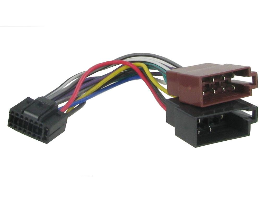 JVC original ISO kablage