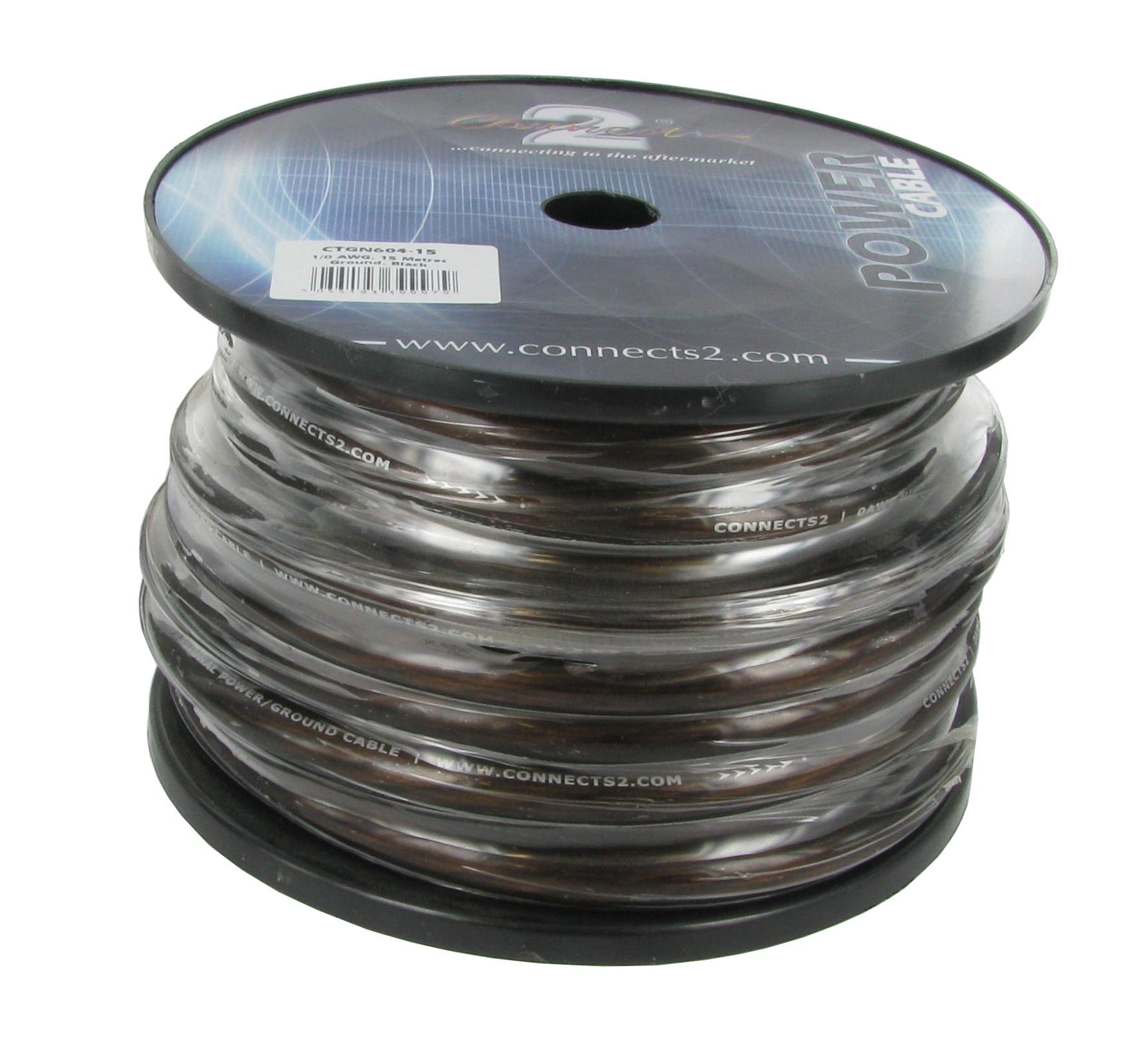 21mm2 kabel svart