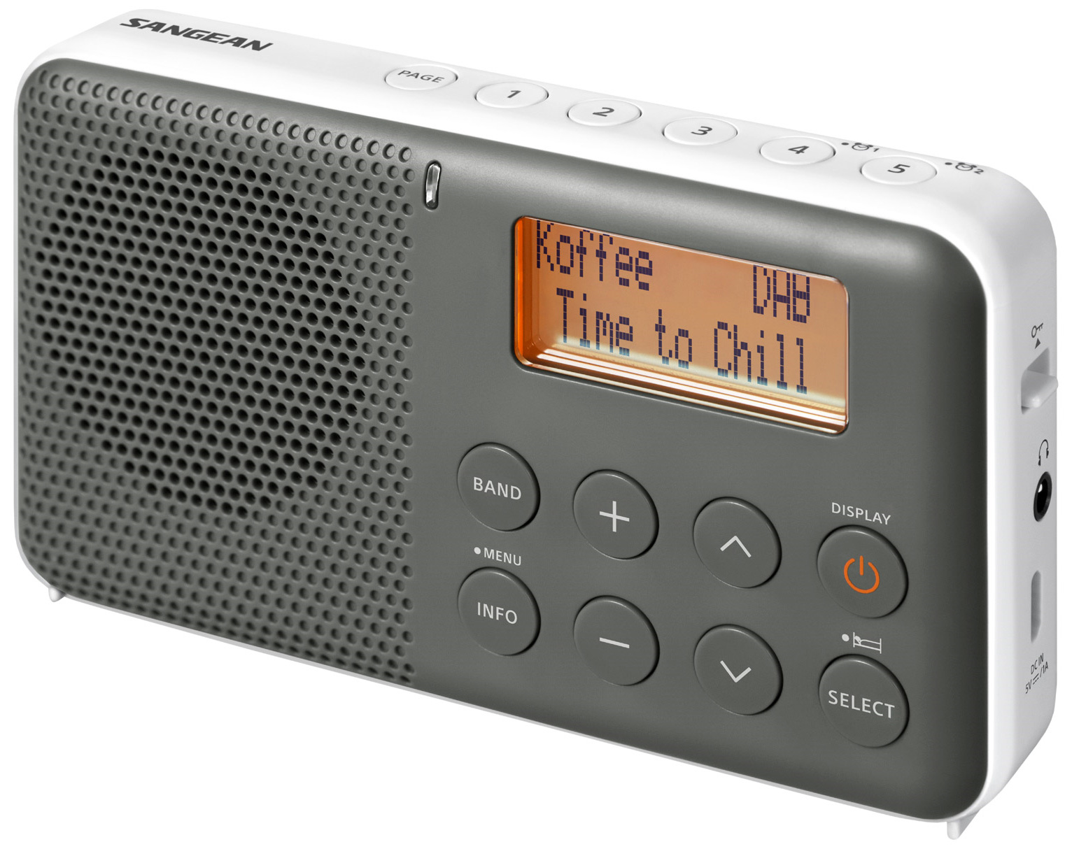 Sangean DAB FM rese VIT