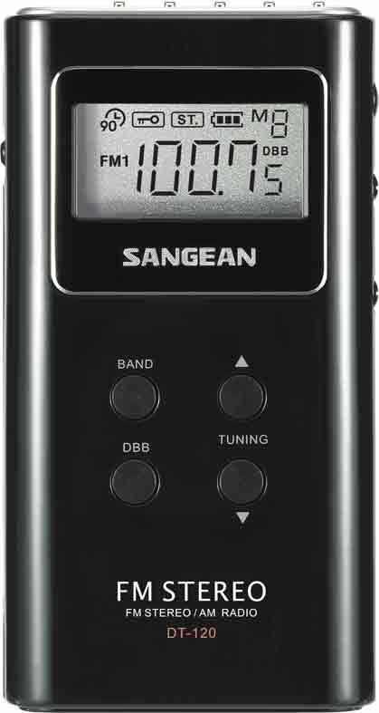 Sangean Fickradio Digital PLL