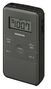 Sangean Fickradio inbyggt uppl
