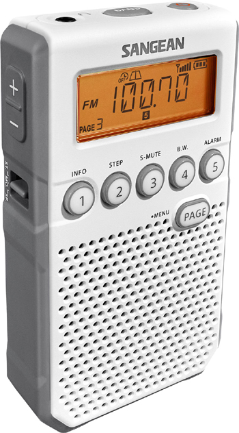 Sangean Fickradio VIT snabbval