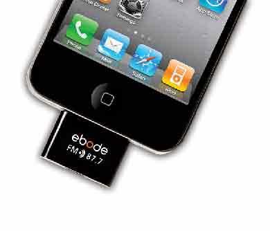 Ebode FM sändare för I Phone