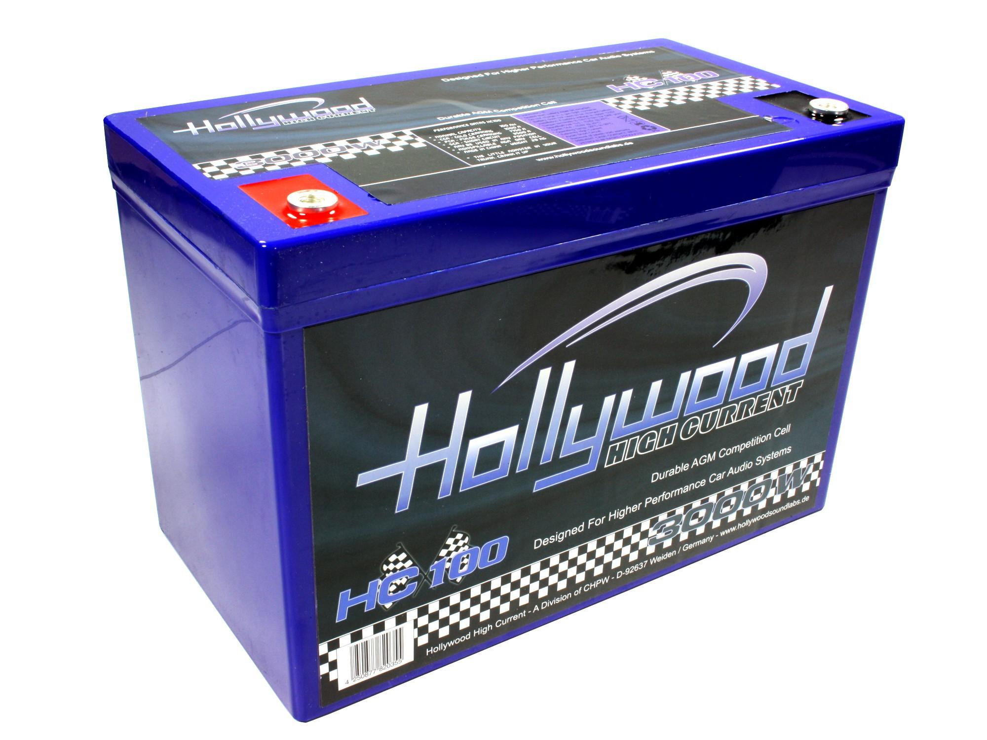 Hollywood 100ah 600CCA