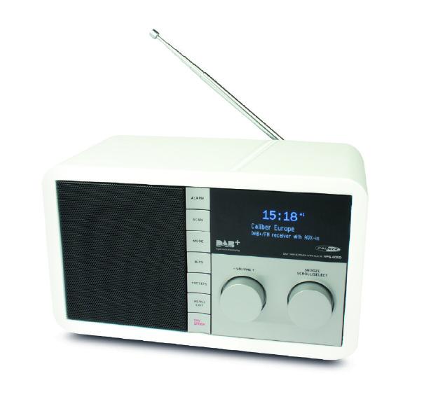 Caliber DAB radio med AUX