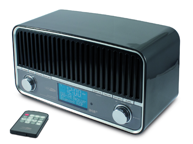 Caliber retro RADIO FM DAB