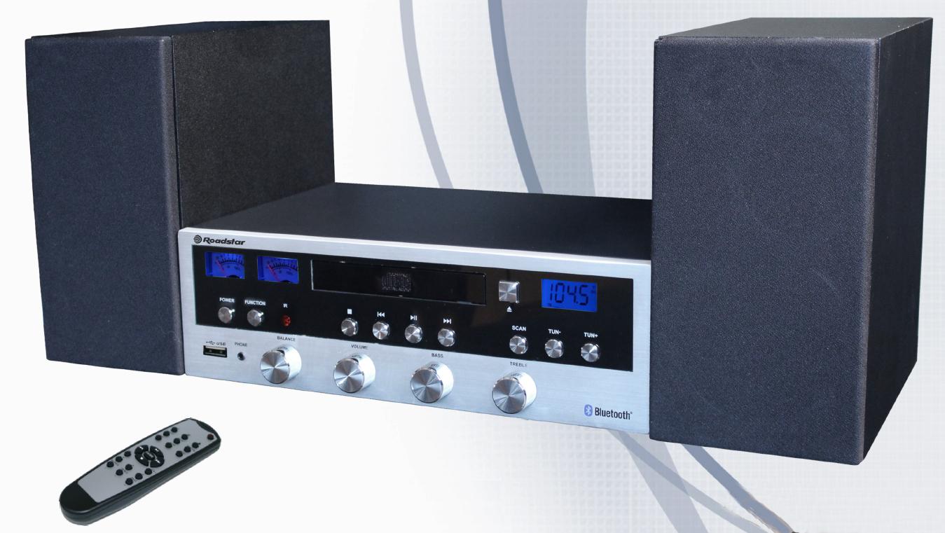 Roadstar Stereo i RETRO stil