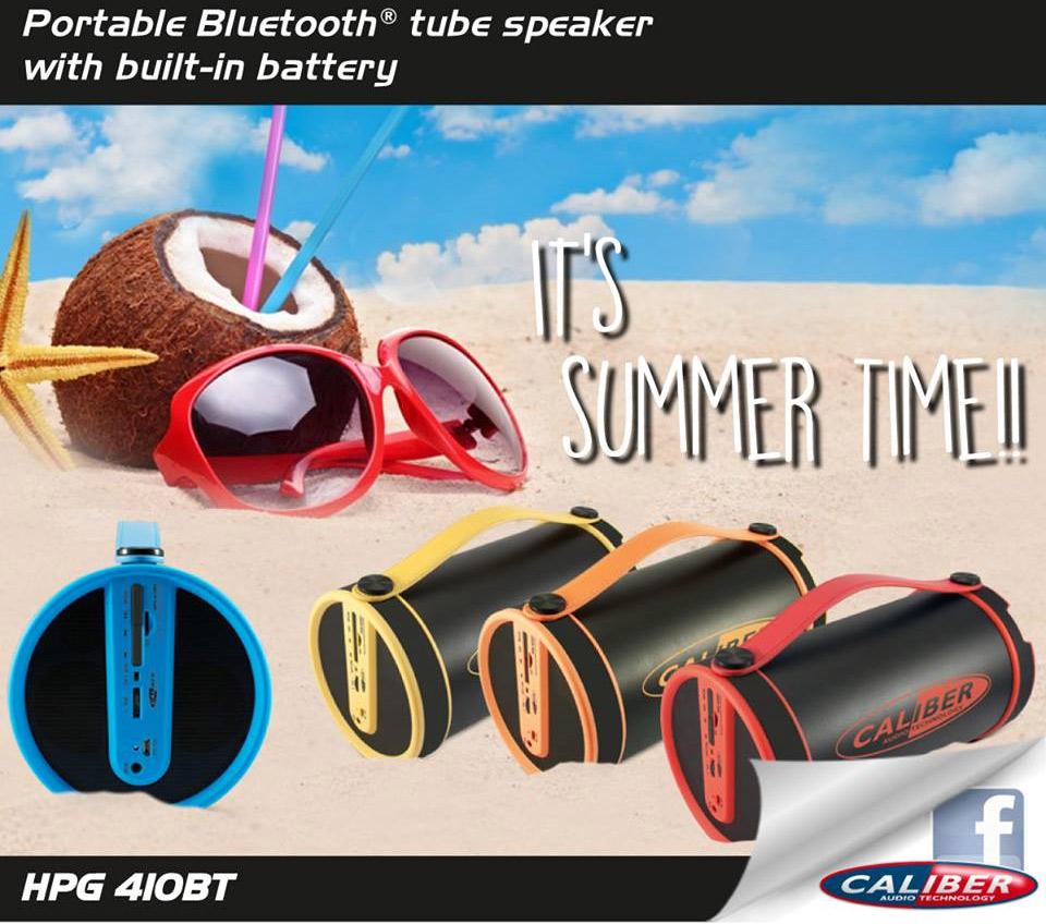 Caliber Bluetooth högtalare FM