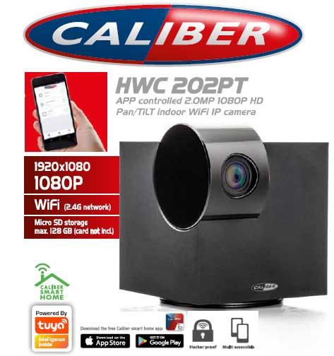 Caliber Trådlös WiFi HD kamera