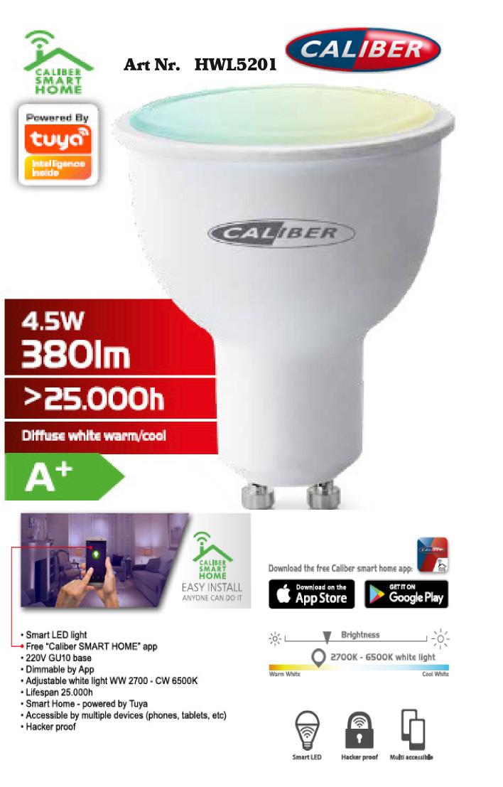LED Smart Glödlampa