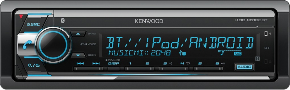 Kenwood BT/USB/CD