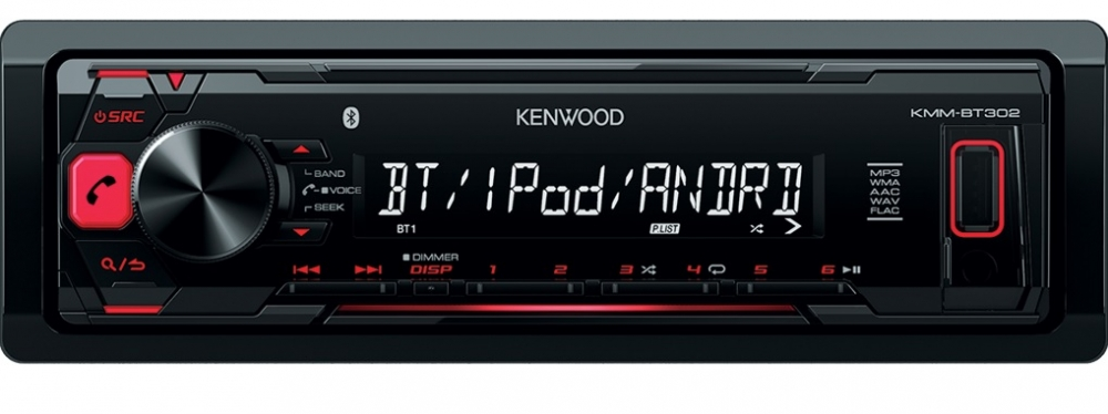 Kenwood BT/USB media