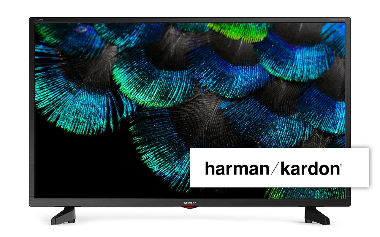 Sharp 40tum, DVB-T2, S2, C