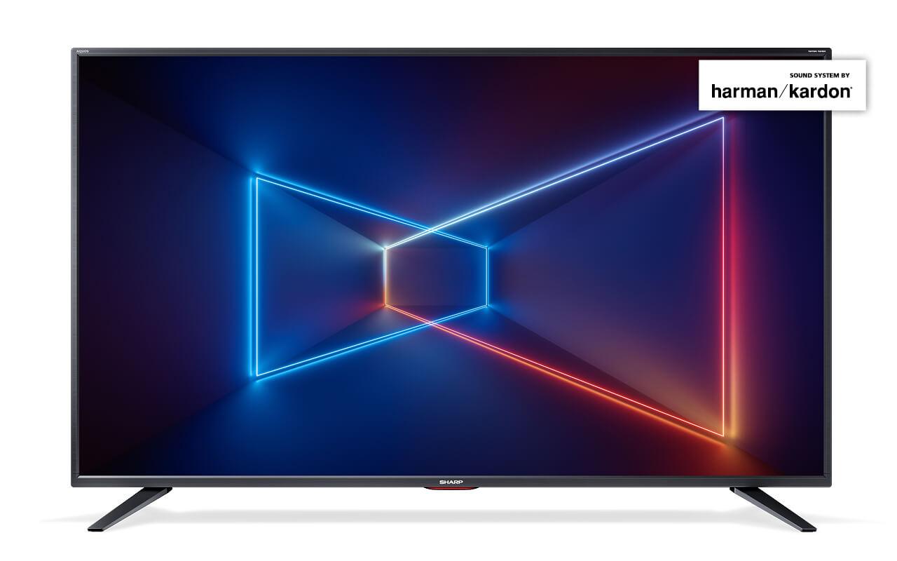 Sharp 49tum DVB-T2. S2. C