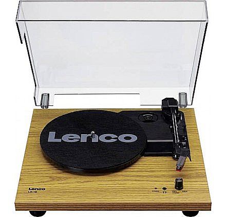 Lenco skivspelare m. högtalare