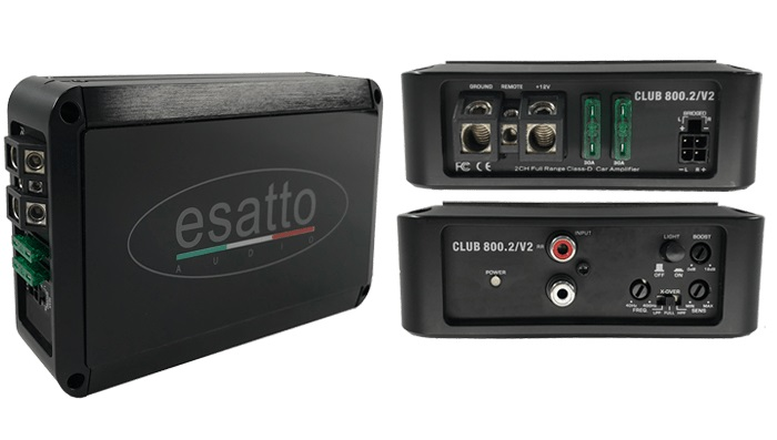 Esatto 2 Channel Amplifier
