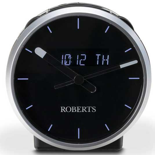 Roberts Radio Svart Körsbär