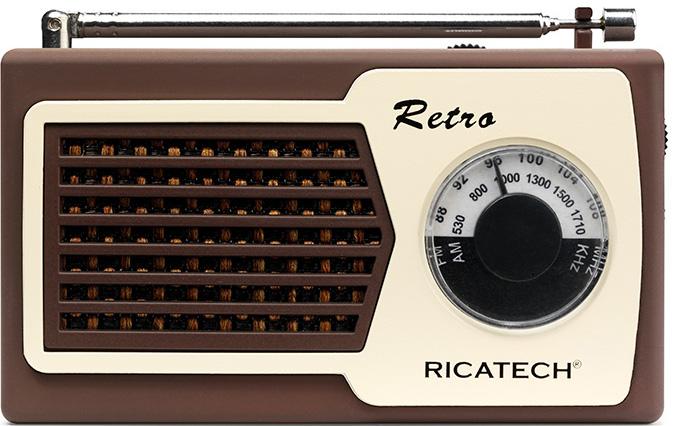 RICATECH Retro transistor Brun