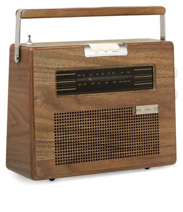 Ricatech RETRO Radio TRÄ