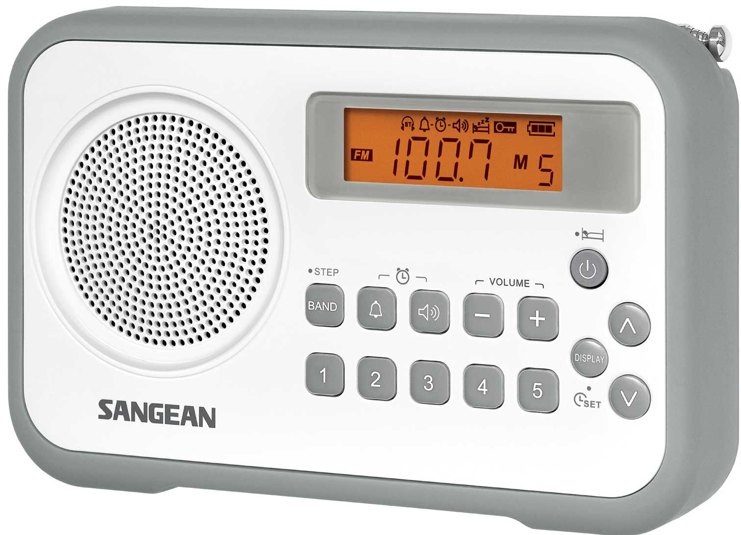 Sangean Snabbvalsradio FM VIT