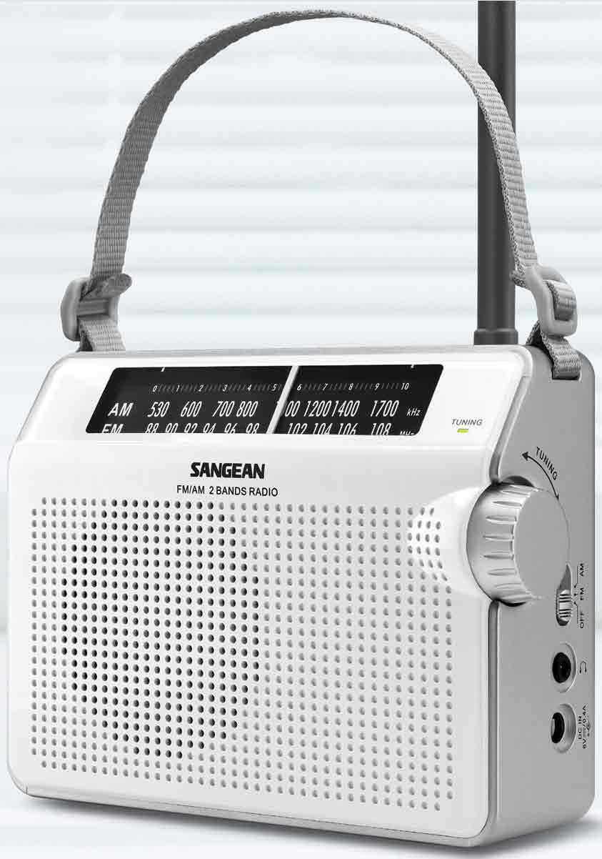 Sangean Fm/am Radio Bas/disk